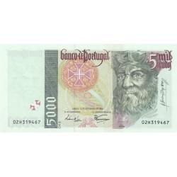 PORTOGALLO 5000 SCUDI 1996 UNC