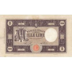 1000 LIRE BARBETTI 29.6.1926 DECRETO, RARA
