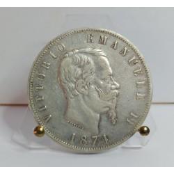 REGNO D'ITALIA VITTORIO EMANUELE II 5 LIRE 1874