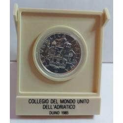 500 LIRE 1985 MONDO UNITO DELL'ADRIATICO