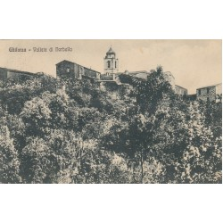 GHILARZA , VALLATA DI NORBELLO, CARTOLINA VIAGGIATA 1933