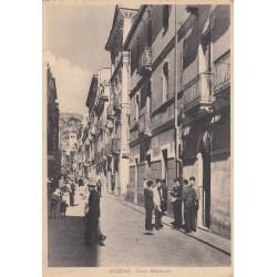 IGLESIAS, CORSO MATTEOTTI, CARTOLINA VIAGGIATA 1952