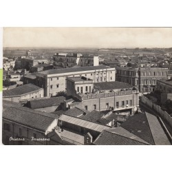 ORISTANO, PANORAMA ,CARTOLINA VIAGGIATA 1949