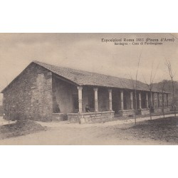 FORDONGIANUS, ESPOSIZIONE ROMA 1911, PIAZZA D'ARMI, SARDEGNA, NON VIAGGIATA