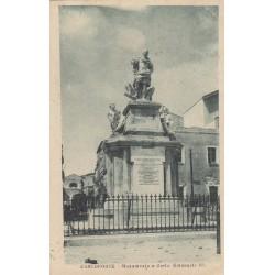 CARLOFORTE , MONUMENTO A CARLO EMANUELE III, CARTOLINA VIAGGIATA