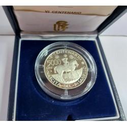 5000 LIRE 1995 PISANELLO PROOF