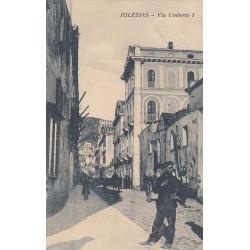 IGLESIAS, VIA UMBERTO I 1915