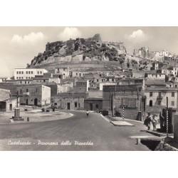 CASTELSARDO PANORAMA DALLA PIANEDDA 1958