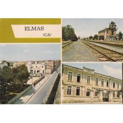 ELMAS VIA SULCITANA, SCUOLA ELEMENTARE, STAZIONE F.S 1985