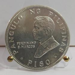 FILIPPINE   1 PESO 1970 SILVER COIN