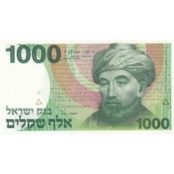 ISRAELE 1000 LIROT 1983