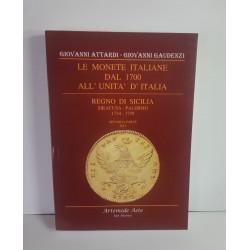 LE MONETE ITALIANE DAL 1700 ALL'UNITà DI ITALIA REGNO DI SICILIA SIRACUSA PALERMO 1734 1759 NUOVO