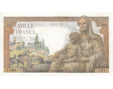 FRANCIA 1000 FRANCHI 1942 q/FDS