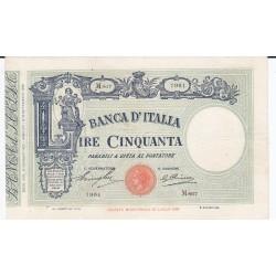 50 LIRE MATRICE FASCIO 15.1.1929 qSPL