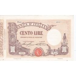 100 LIRE MATRICE DECRETO 18.4.1918 SPL+