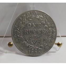 INDIA 1 RUPEE 1835 SILVER COIN