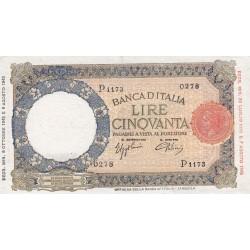 50 Lire Lupa Capitolina BI 8.10.1943