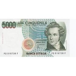5000 LIRE BELLINI 26.11.1996 FDS