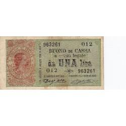 1 Lira Umberto I 15.9.1893