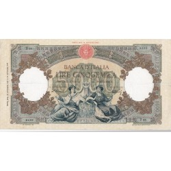 5000 LIRE REPUBBLICHE MARINARE 27 OTTOBRE  1947 BB+