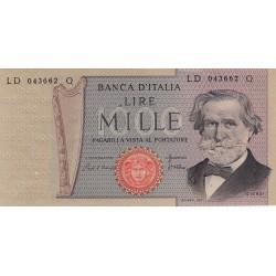 1000 LIRE GIUSEPPE VERDI II TIPO 20 MAGGIO 1981