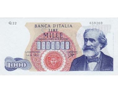 1000 LIRE G.VERDI I TIPO 14.71.1964   SUP+