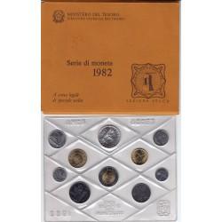 REPUBBLICA SERIE DIVISIONALE 1982 FDC