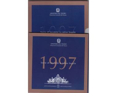REPUBBLICA SERIE DIVISIONALE 1997 FDC