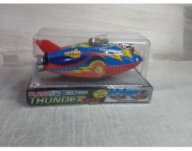 Thunder Racer navicella in latta Playgo nuova