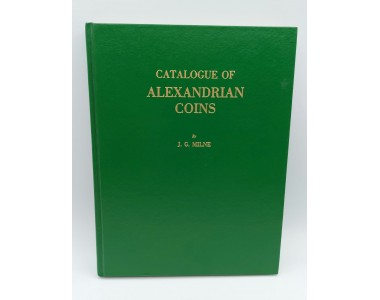 CATALOGUE OF ALEXANDRIAN COINS  By J.G.MILNE