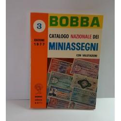 RARO CATALOGO BOBBA MINI ASSEGNI  1977 NUOVO