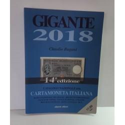 CATALOGO DELLA CARTAMONETA ITALIANA 2018 DI CLAUDIO BUGANI