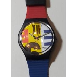 SWATCH NINE TO SIX  GB117 1987