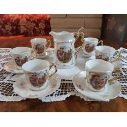 SERVIZIO DA CAFFE'  IN PORCELLANA C.T ALTWASSER SILESIA  PRIMI 900