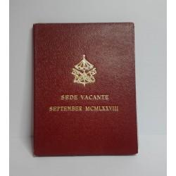 SEDE VACANTE SETTEMBRE 1978 500 LIRE