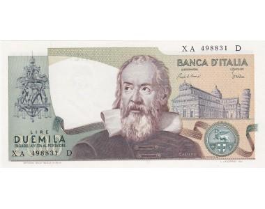 2.000 LIRE GALILEO GALILEI 24-10-1983 SERIE SOSTITUTIVA XA D  FDS