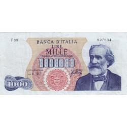 1000 LIRE G. VERDI 1 TIPO 20 MAGGIO 1966