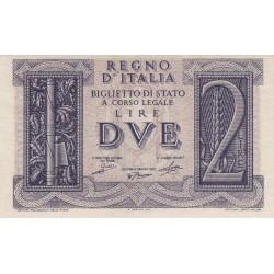 2 LIRE IMPERO 14.11.1939
