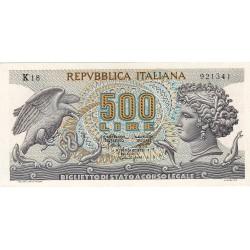 500 LIRE ARETUSA 20.10.1967 FDS