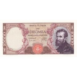 10000 lire Michelangelo 20.5.1966 FDS
