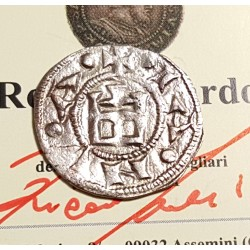 GENOVA 1133-1333 DENARO PRIMO TIPO SPL