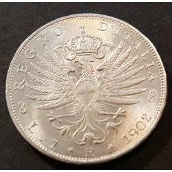 1 LIRA 1902 FDC