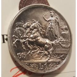 1 LIRA 1915 qFDC