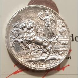 1 LIRA 1917  FDC