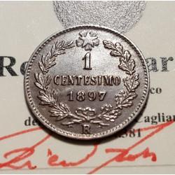 1 CENTESIMO 1897   qFDC