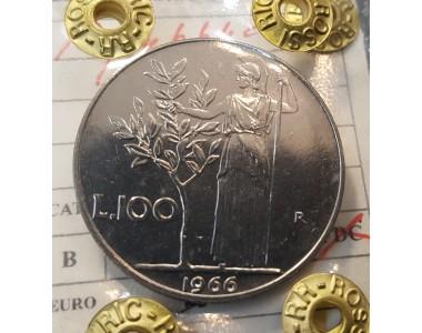 100 LIRE 1966 FDC
