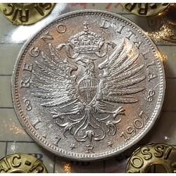 1 LIRA 1907 SPL+