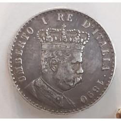 Umberto I 50 centesimi per l'Eritrea 1890