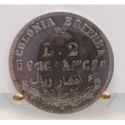Umberto I 2 Lire per l'Eritrea 1890