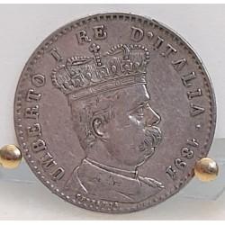 Umberto I 1 lira per l'Eritrea 1891